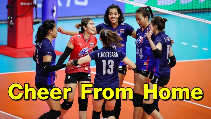 เปิดคิวตบนัดแรก ทีมลูกยางสาวไทย ประเดิมเจอญี่ปุ่น ในศึก VNL 2021