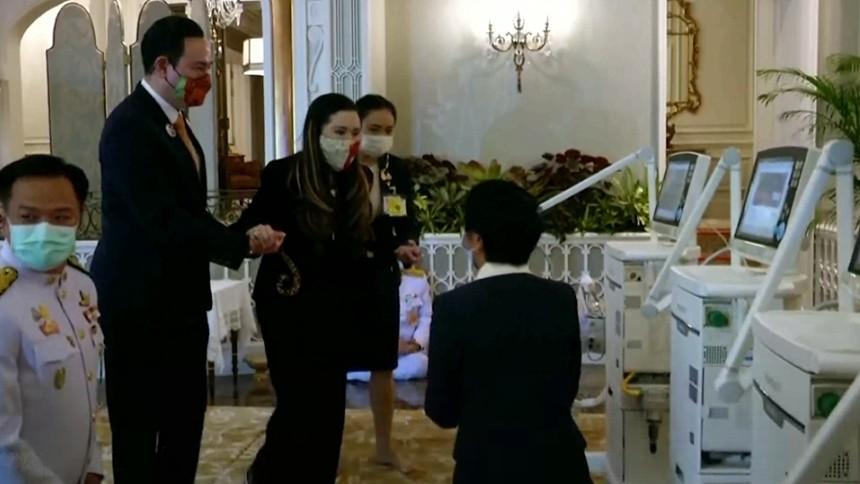 กรมพระศรีสวางควัฒนฯ พระราชทานพระวโรกาสให้ รองนายกฯ และ รมว.กระทรวงสาธารณสุข พร้อมคณะ เฝ้า