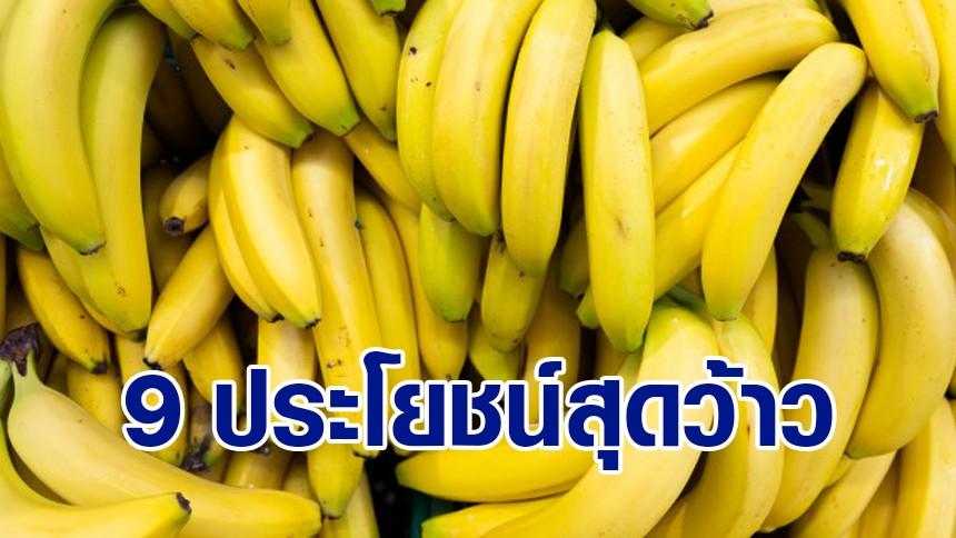 9 ประโยชน์สุดว้าว! ของ 'กล้วย' ที่คุณไม่เคยรู้มาก่อน