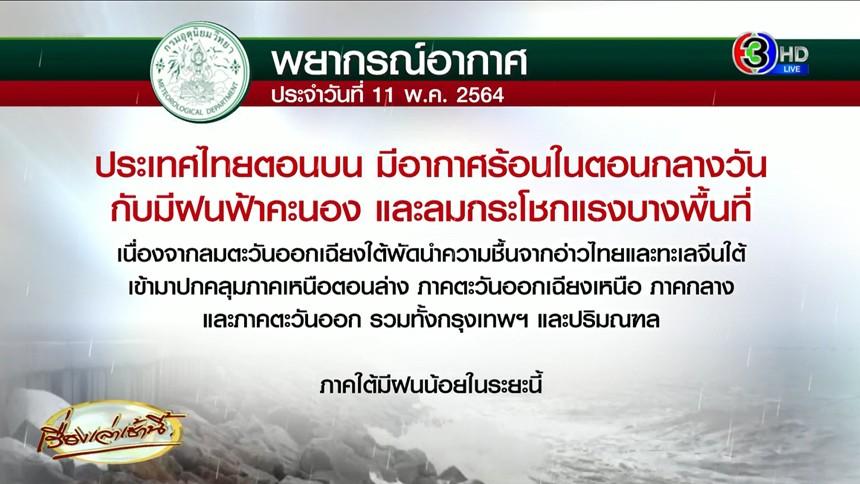อากาศวันนี้ อุตุฯเผยทั่วไทยฝนน้อยลง แต่ร้อนหนักมาก!