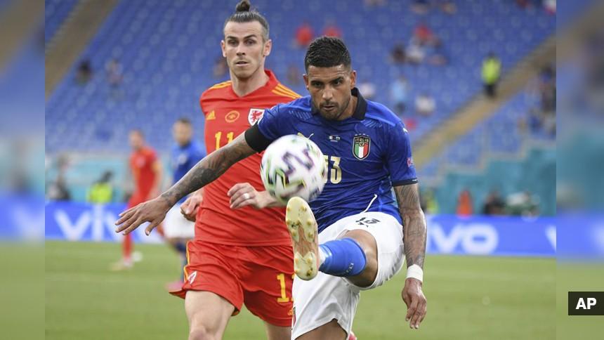 อิตาลีชนะเวลส์ 1-0 แต่ได้กอดคอกันเข้ารอบ ศึกยูโร 2020