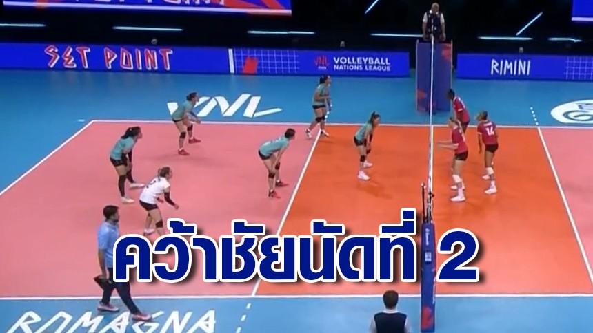 ทัพลูกยางไทยเฮ! คว้าชัย 2 นัดติด หลังชนะแคนาดา 3-0