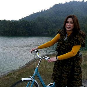 ปั่นจักรยานท้าลมหนาวรอบทะเลสาบ Sun Moon